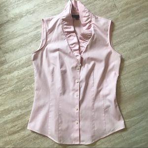 Ruffle Collar Brooks Brothers Shirt